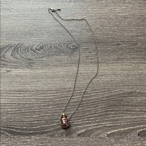 Jewelry - Essential oil diffuser necklace silver